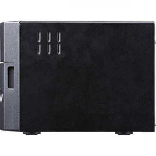 Buffalo TeraStation 3210DN Desktop 4 TB NAS Hard Drives Included Left/500