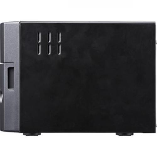 Buffalo TeraStation 3210DN Desktop 8 TB NAS Hard Drives Included Left/500