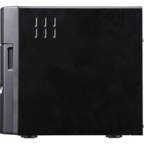Buffalo TeraStation 3410DN Desktop 8 TB NAS Hard Drives Included Left/500