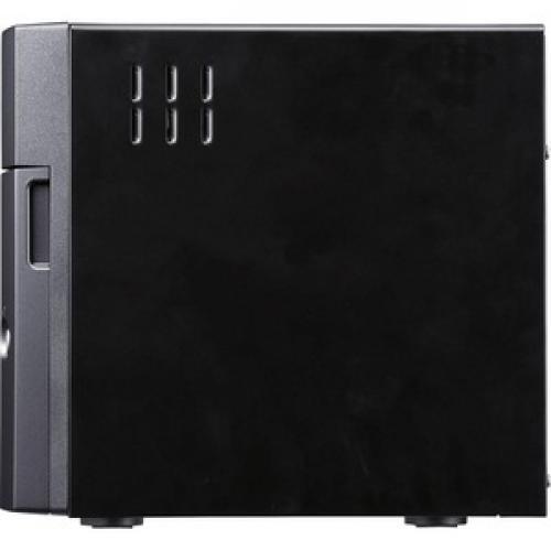 Buffalo TeraStation 3410DN Desktop 16 TB NAS Hard Drives Included Left/500