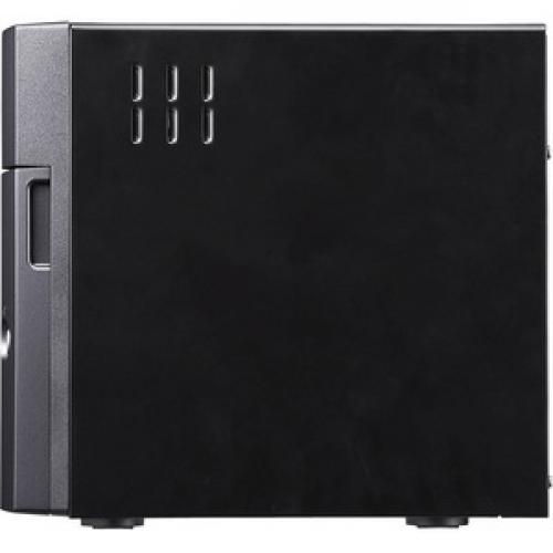 Buffalo TeraStation 5410DN Desktop 16TB NAS Hard Drives Included Left/500