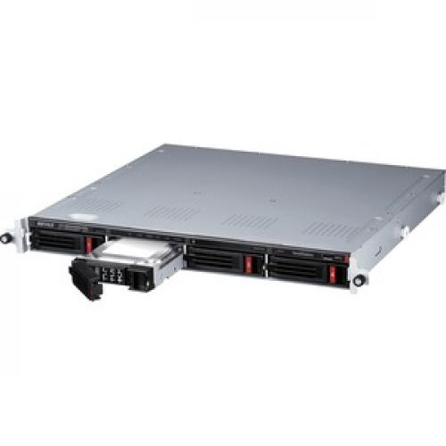 Buffalo TeraStation 3410RN Rackmount 16 TB NAS Hard Drives Included Left/500