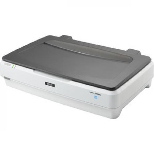 Epson Expression 12000XL GA Flatbed Scanner   2400 Dpi Optical Left/500