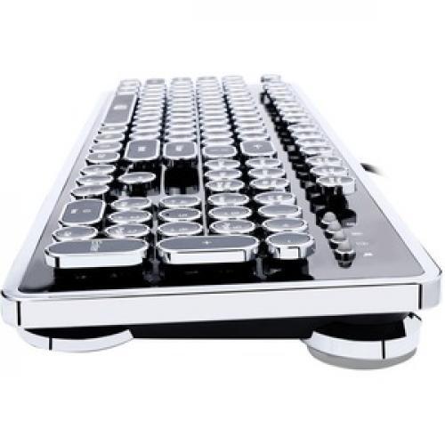 Adesso AKB 636UB Desktop Mechanical Typewriter Keyboard Left/500