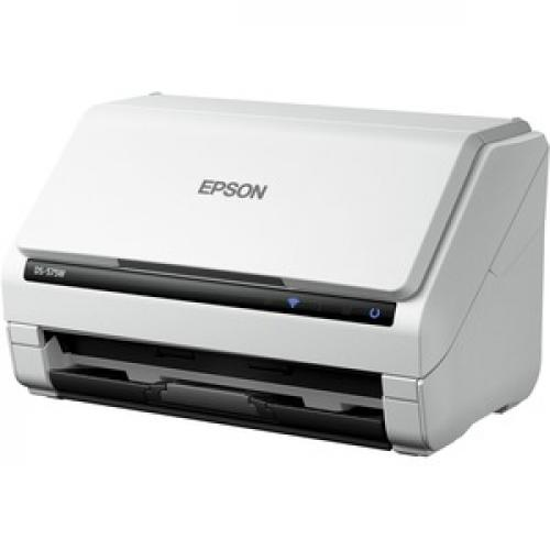Epson DS 575W Sheetfed Scanner   600 Dpi Optical Left/500