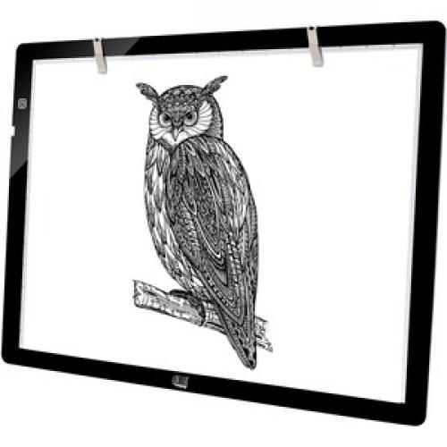 "Adesso CyberPad P2  12"" X 17"" LED Light Tracing Pad Left/500"