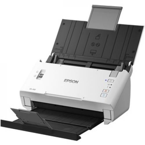 Epson DS 410 Sheetfed Scanner   600 Dpi Optical Left/500