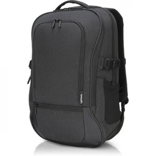 """Lenovo Passage Carrying Case (Backpack) For 17"""" Notebook   Charcoal Left/500"""