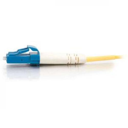 C2G 5m LC LC 9/125 Duplex Single Mode OS2 Fiber Cable   Yellow   16ft Left/500