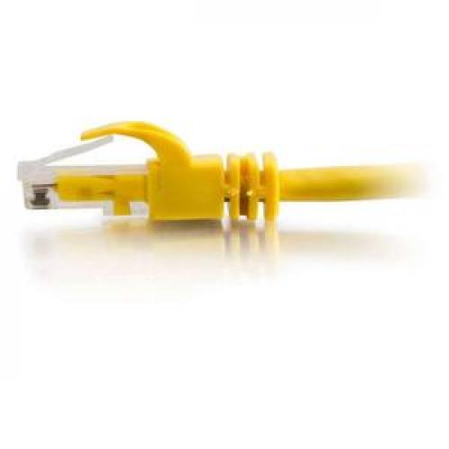 C2G 7ft Cat6 Snagless Crossover Unshielded (UTP) Network Patch Cable   Yellow Left/500