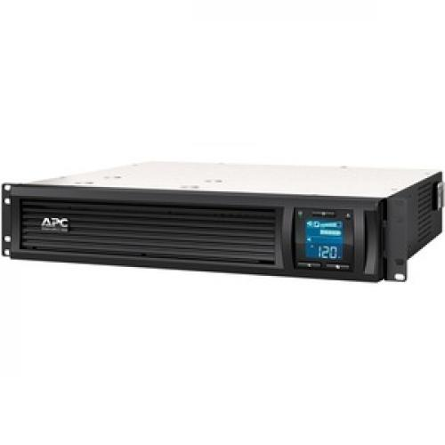 APC By Schneider Electric Smart UPS C 1000VA LCD RM 2U 120V With SmartConnect Left/500