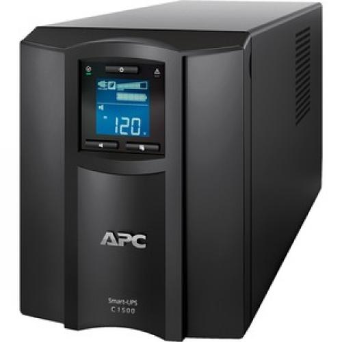 APC By Schneider Electric Smart UPS SMC1500C 1500VA Desktop UPS Left/500