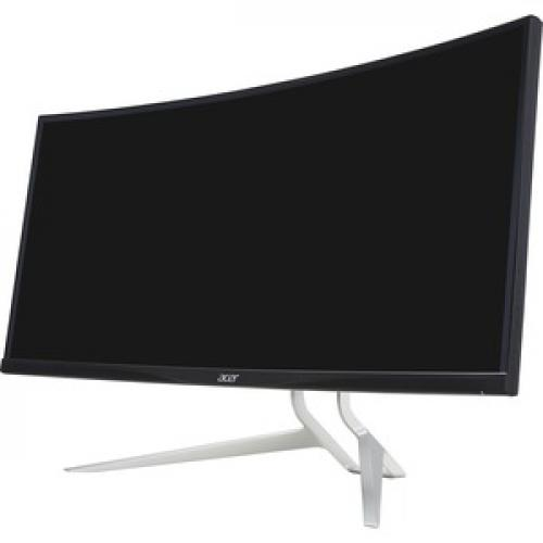 "Acer XR342CK 34"" UW QHD Curved Screen LED LCD Monitor   21:9   Black Left/500"
