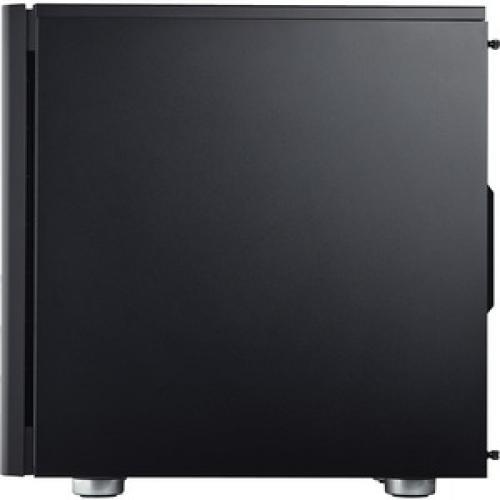 Corsair Carbide Series 275R Mid Tower Gaming Case   Black Left/500
