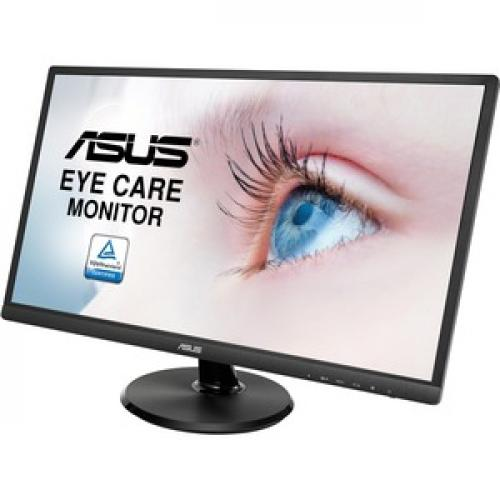 "Asus VA249HE 23.8"" Full HD LED LCD Monitor   16:9   Black Left/500"