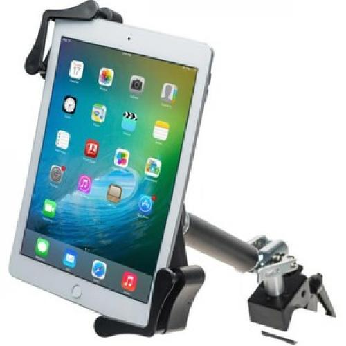 CTA Digital Clamp Mount For Tablet, IPad, IPad Pro, IPad Mini, IPad Air Left/500