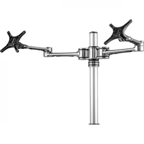 Atdec Dual Monitor Desk Mount   Flat And Curved Monitors Up To 32in   VESA 75x75, 100x100 Left/500