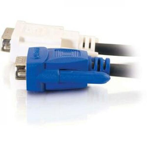 C2G 5m DVI Male To HD15 VGA Male Video Cable (16.4ft) Left/500