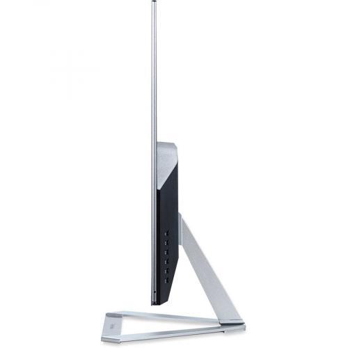 "Viewsonic Ultra Slim VX3276 2K MHD 32"" WQHD LED LCD Monitor   16:9   Silver Left/500"