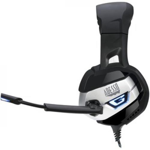 Adesso Stereo USB Gaming Headset With Microphone Left/500