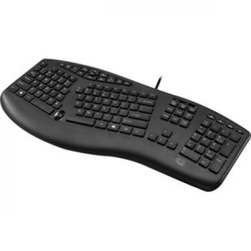 Adesso TruForm Media 160   Ergonomic Desktop Keyboard Left/500