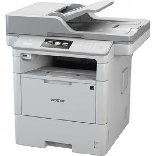 Brother MFC L6900DWG TAA Compliant Business Laser All In One Printer Left/500