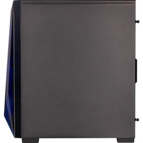 Corsair Carbide Series SPEC DELTA RGB Tempered Glass Mid Tower ATX Gaming Case   Black Left/500