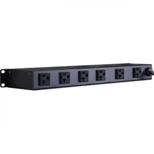 CyberPower Rackmount CPS 1220RM 20A PDU Left/500