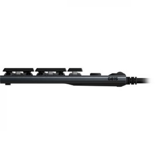Logitech G815 Lightsync RGB Mechanical Gaming Keyboard Left/500