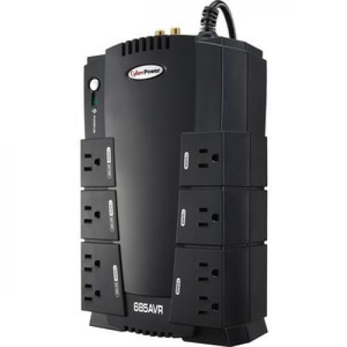 CyberPower AVR CP685AVR 685VA UPS Left/500
