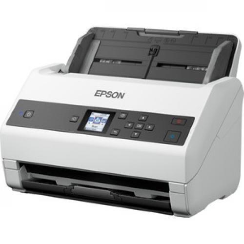 Epson WorkForce DS 970 Sheetfed Scanner   600 Dpi Optical Left/500
