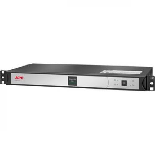 APC By Schneider Electric Smart UPS 500VA Rack Mountable UPS Left/500