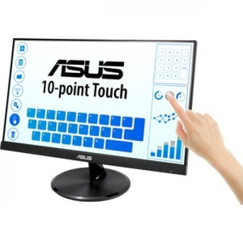 "Asus VT229H 21.5"" LCD Touchscreen Monitor   16:9   5 Ms GTG Left/500"