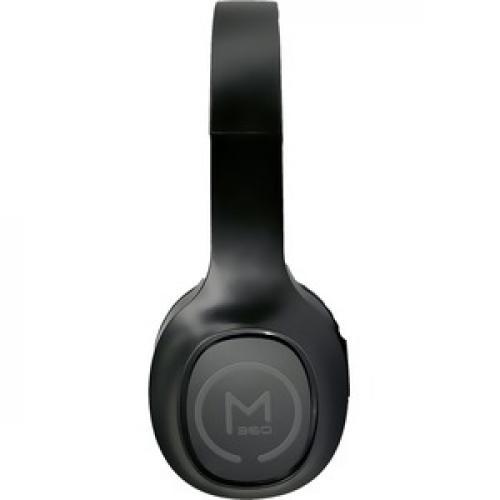 Morpheus 360 Tremors Wireless On Ear Headphones   Bluetooth 5.0 Headset With Microphone   HP4500B Left/500