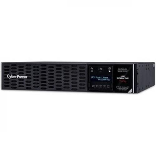 CyberPower Smart App Sinewave 2200VA Tower/Rack Convertible UPS Left/500