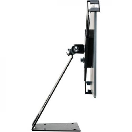 CTA Digital Angle Adjustable Locking Desktop Stand For 7 14 Inch Tablets Left/500