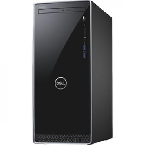 Dell Inspiron 3670 Desktop Computer Intel Core I5 8GB RAM 1TB HDD Black   9th Gen I5 9400 Hexa Core   Intel UHD Graphics 630   Keyboard & Mouse Included   DVD Writer   Mini Tower Form Factor   Windows 10 Home Left/500