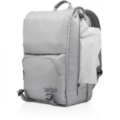"""Lenovo Carrying Case (Backpack) For 15.6"""" Lenovo Notebook   Gray Left/500"""