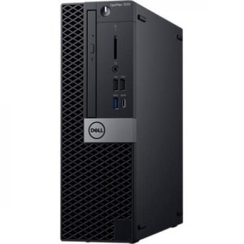 Dell OptiPlex 7000 7070 Desktop Computer   Core I7 I7 9700   8GB RAM   256GB SSD   Small Form Factor Left/500