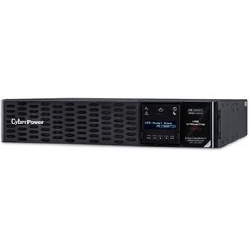 CyberPower Smart App Sinewave PR1500RT2UN 1.5KVA Tower/Rack Convertible UPS Left/500