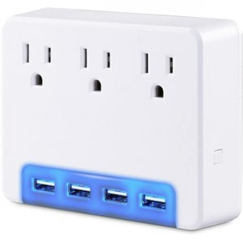 CyberPower Surge Protectors P3WUH Professional    Volts: 125 V Left/500