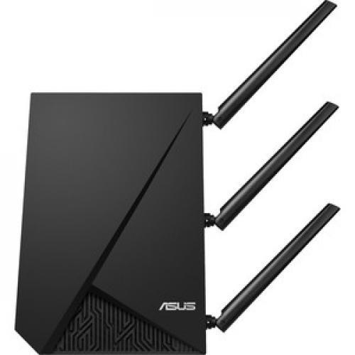 Asus RP AC1900 IEEE 802.11ac 1.86 Gbit/s Wireless Range Extender Left/500