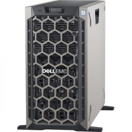 Dell EMC PowerEdge T440 5U Tower Server   2 X Xeon Silver 4208   32 GB RAM   1 TB (1 X 1 TB) HDD   12Gb/s SAS, Serial ATA/600 Controller Left/500