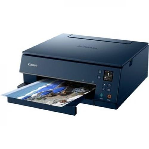 Canon PIXMA TS TS6320 Navy Inkjet Multifunction Printer   Color Left/500