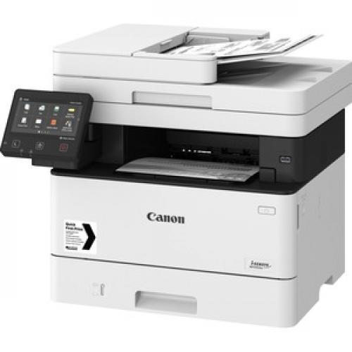 Canon ImageCLASS MF445dw Laser Multifunction Printer   Monochrome Left/500