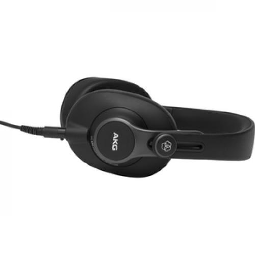 AKG K371 Over Ear, Closed Back Foldable Studio Headphones Left/500