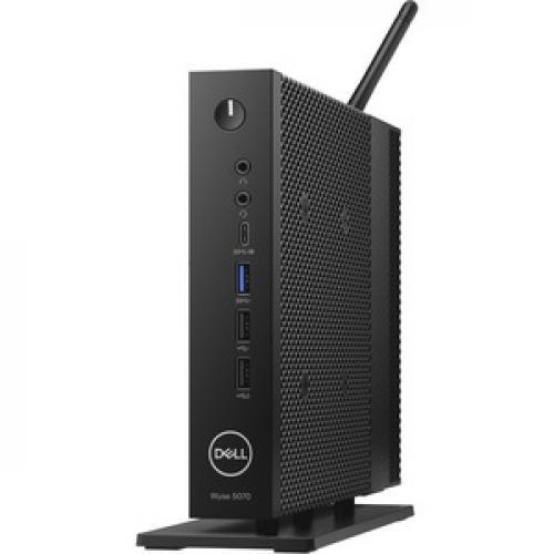 Wyse 5000 5070 Thin Client   Intel Celeron J4105 Quad Core (4 Core) 1.50 GHz Left/500