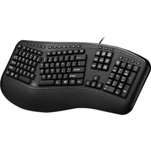 Adesso Desktop Ergonomic Keyboard (TAA Compliant) Left/500
