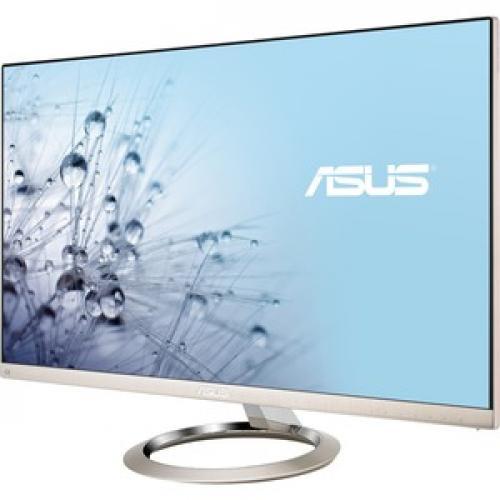 "Asus Designo MX27UCS 27"" 4K UHD LED LCD Monitor   16:9   Icicle Gold, Black Left/500"