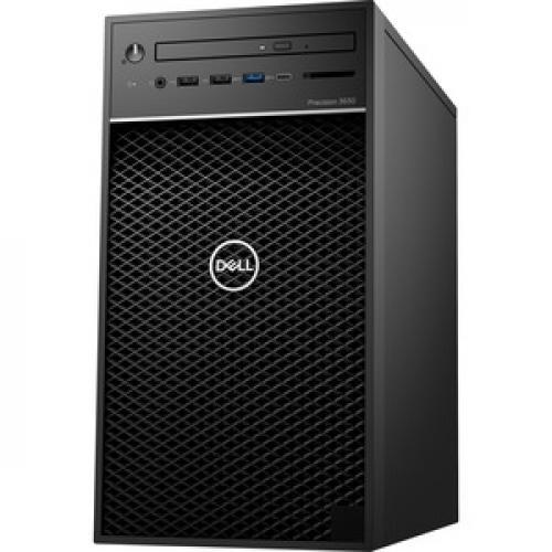 Dell Precision 3000 3630 Workstation   Core I7 I7 9700K   16 GB RAM   256 GB SSD   Mini Tower Left/500